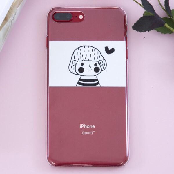 Ốp lưng iphone Con Gái 6 6S 6Plus 6S Plus 7 8 7Plus 8Plus X XSMax 11 ProMax XR - Xưởng Ốp Việt Nam M11