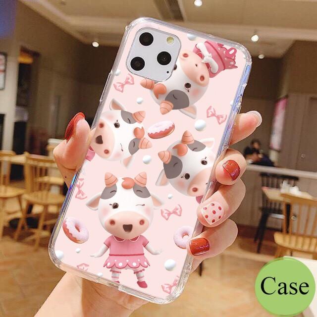 Ốp lưng iphone Sửu Cute 6 6S 6Plus 6S Plus 7 8 7Plus 8Plus X XSMax 11 ProMax XR - Xưởng Ốp Việt Nam M843