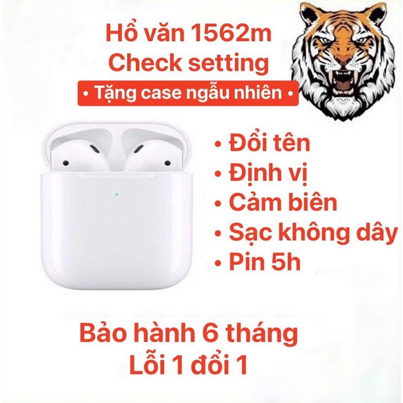 [Tai Nghe Hổ Vằn] Tai Nghe Bluetooth AirPo Hổ Vằn 1562M TWS Bao Check Setting Định Vị Đổi Tên / Dùng Cả IOS & Androi