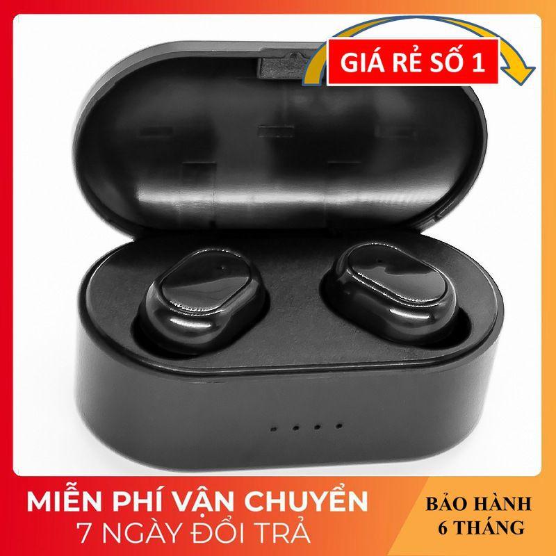 Tai Nghe Nhét Tai ❤️FREESHIP❤️ Kết Nối Buletooth Âm Thanh Rõ Ràng - Có Kèm Hộp Sạc TWS-M9