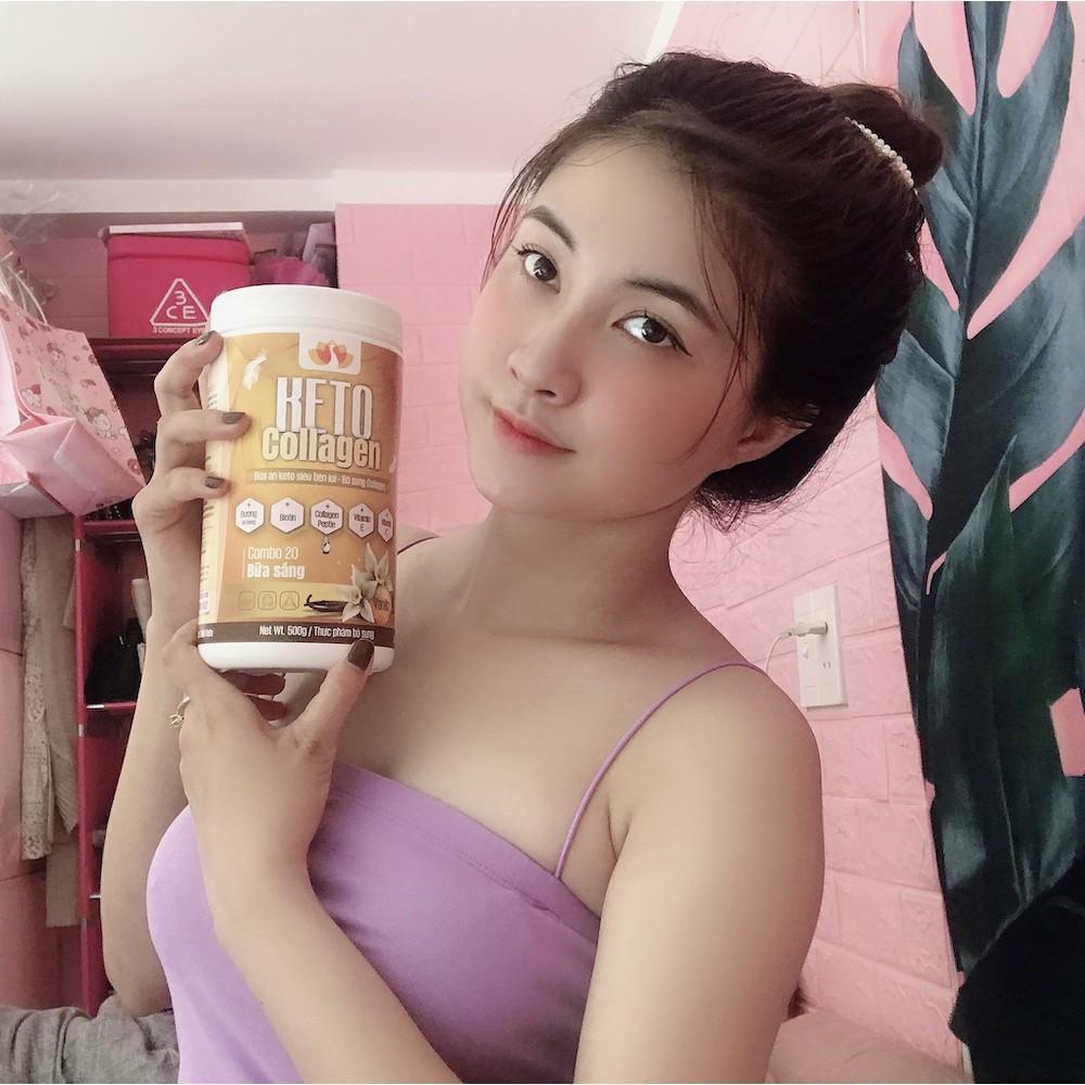 Giảm cân Keto collagen ❤️ CHÍNH HÃNG ❤️ Bữa ăn sáng giảm cân vô cùng tiện lợi và an toàn