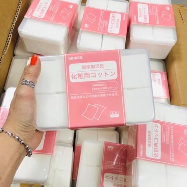 Hộp Bông Tẩy Trang Miniso 1000 miếng
