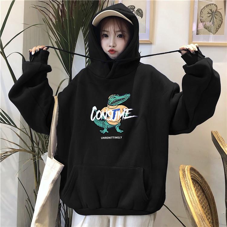 Áo Hoodie Nam Nữ Dáng Rộng Ulzzang - Liti shop