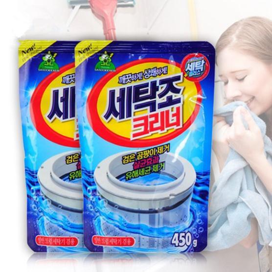 [Free Ship] Combo 2 gói bột tẩy lồng máy giặt Hàn Quốc