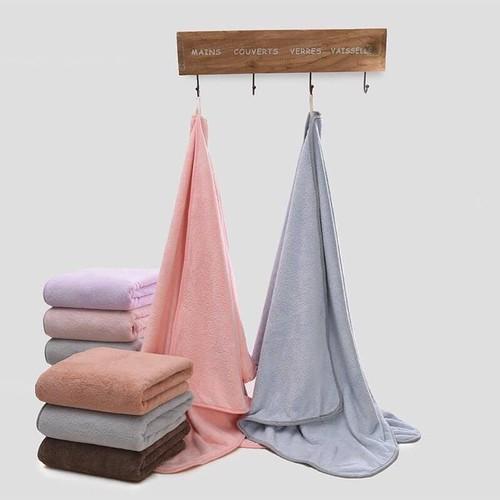 RẺ ĐẸP Khăn tắm bông cao cấp xuất Hàn( 70x140cm)