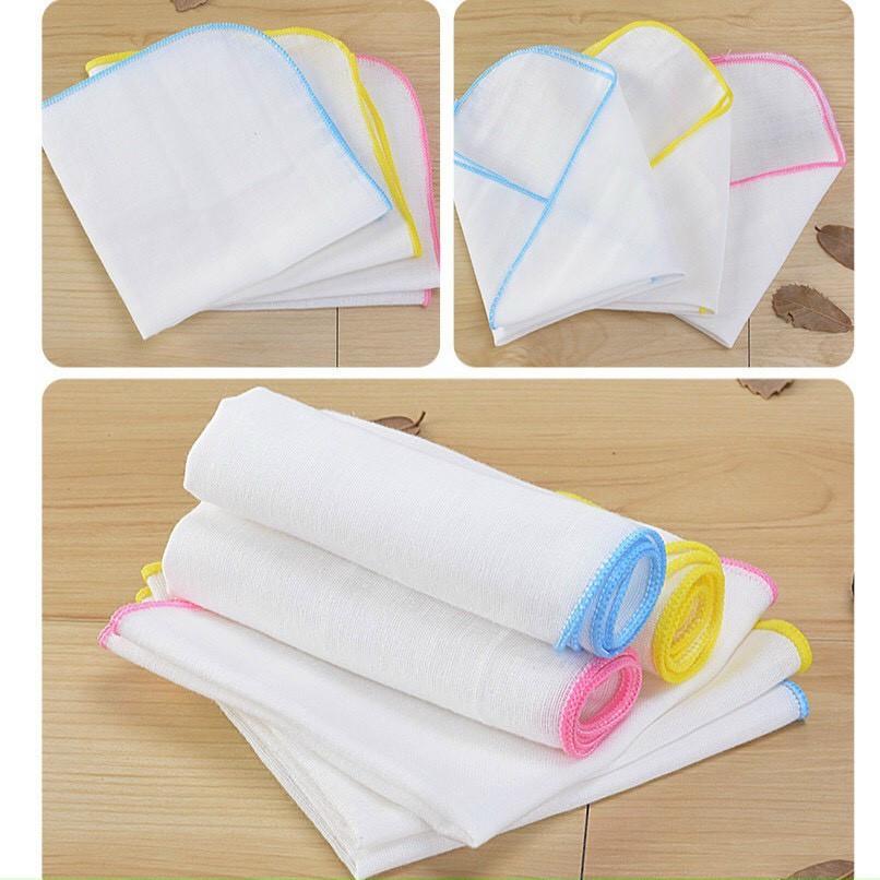 Set 10 khăn xô sữa siêu thấm, siêu mềm 2 lớp 3 lớp 4 lớp ( hàng dày đẹp)