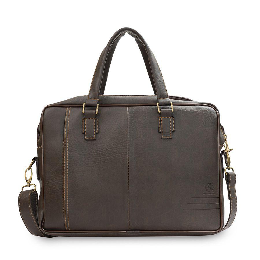 Túi xách công sở - Túi xách laptop - Chống sốc cao cấp HANAMA Dala 2x - Cặp da - cặp laptop