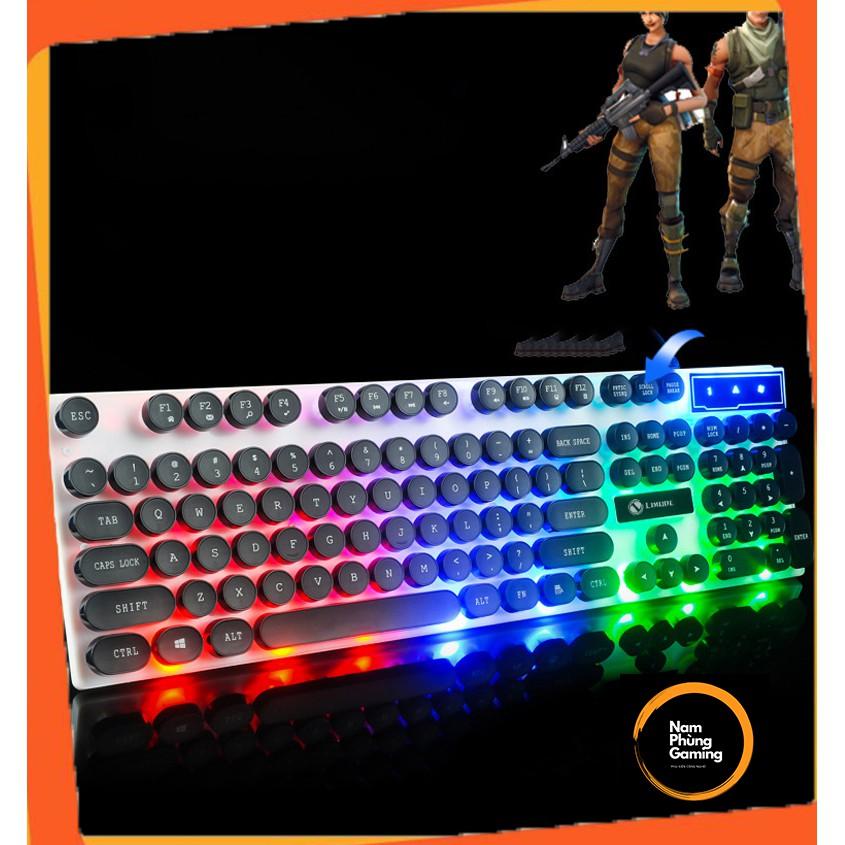 Bàn Phím Chuột Giả Cơ GTX300 - Chuyên game - Có đèn LED Siêu Đẹp, SIêu Phẩm 2021