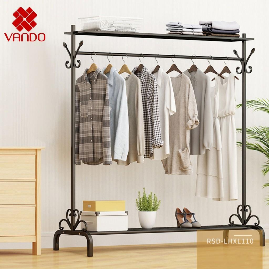 Giá treo quần áo đơn, HIỆN ĐẠI VANDO, tiết kiệm không gian, trang trí cho shop quần áo, phòng ngủ
