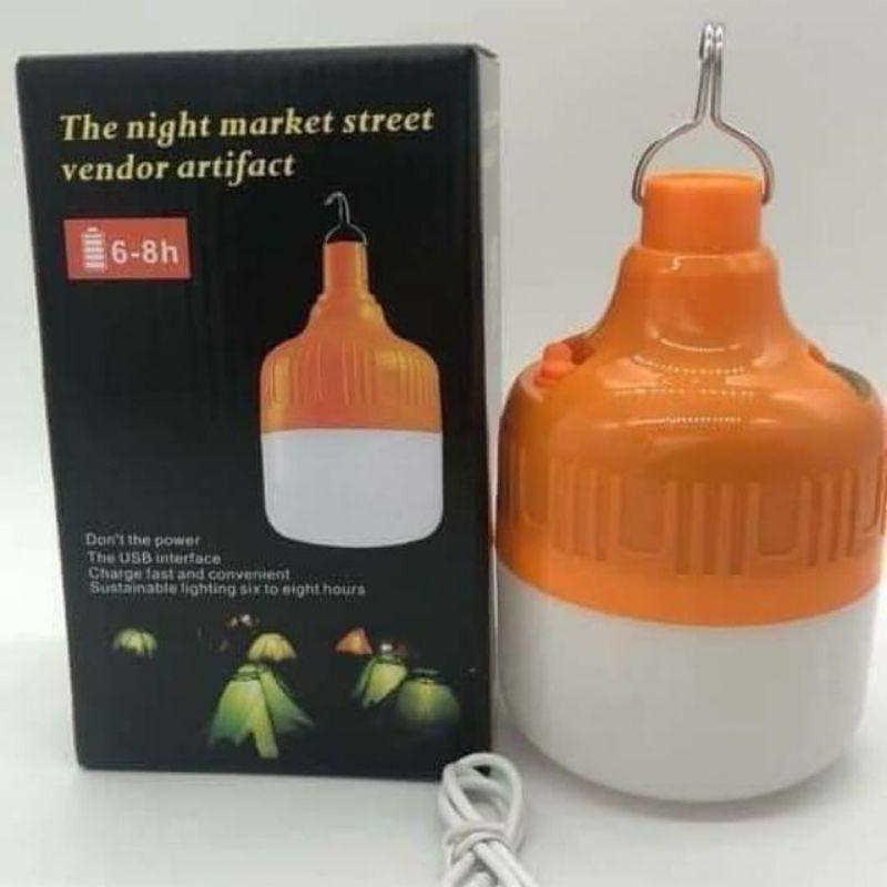 Bóng đèn led tích điện 100W dùng 6h đến 8h, hàng chuẩn loại 1.
