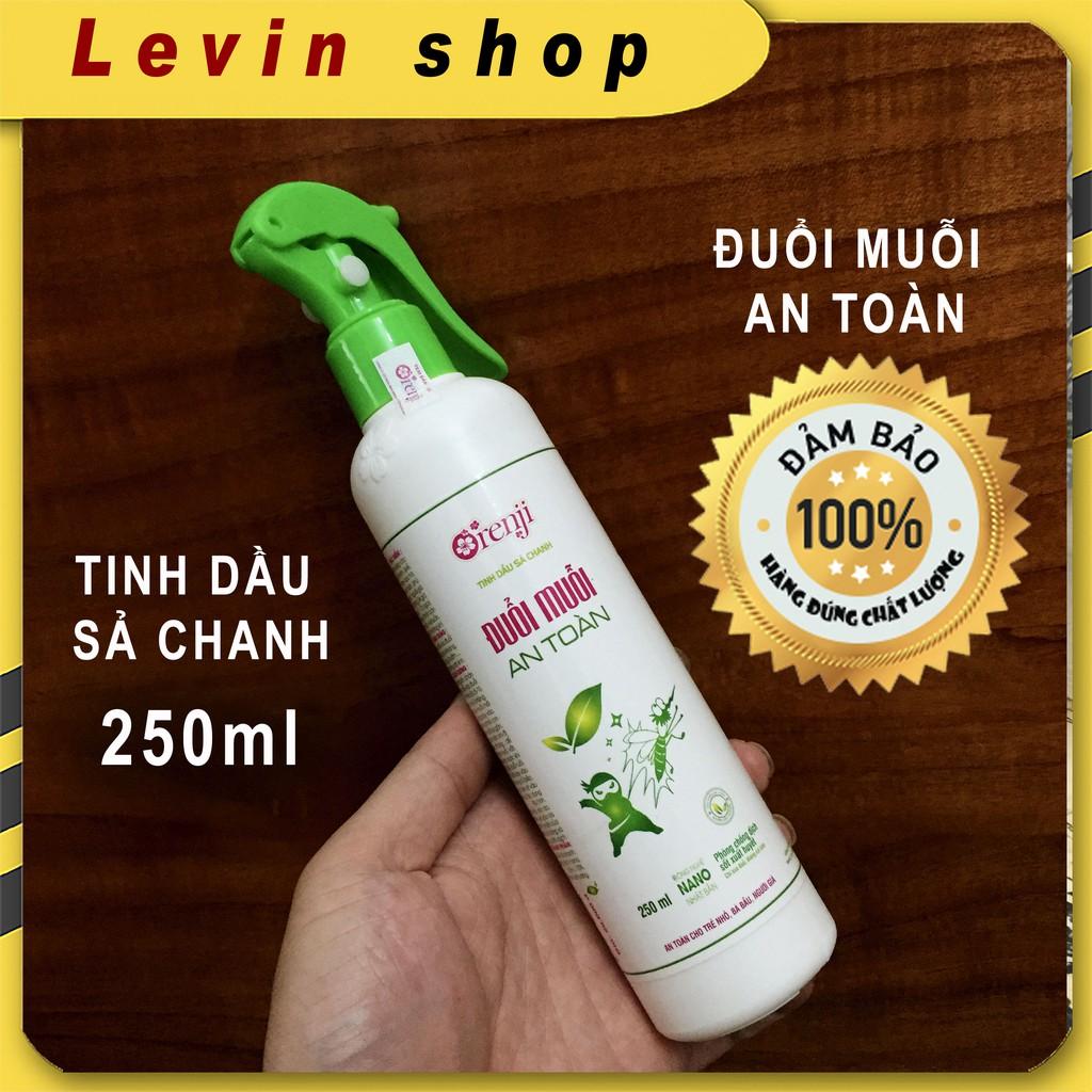 Đuổi muỗi Orenji an toàn hiệu quả [Tinh dầu sả chanh] -Chai 250ml