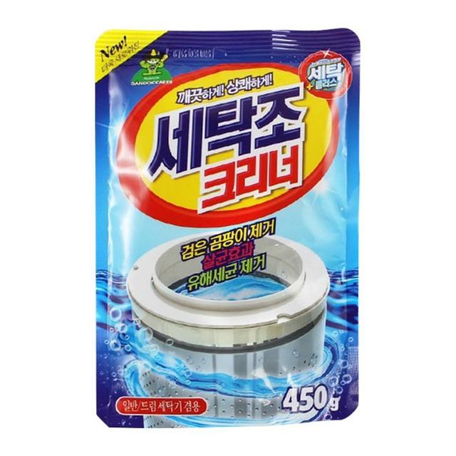 [Free Ship] Bột tẩy lồng máy giặt hàn quốc gói 450 gram