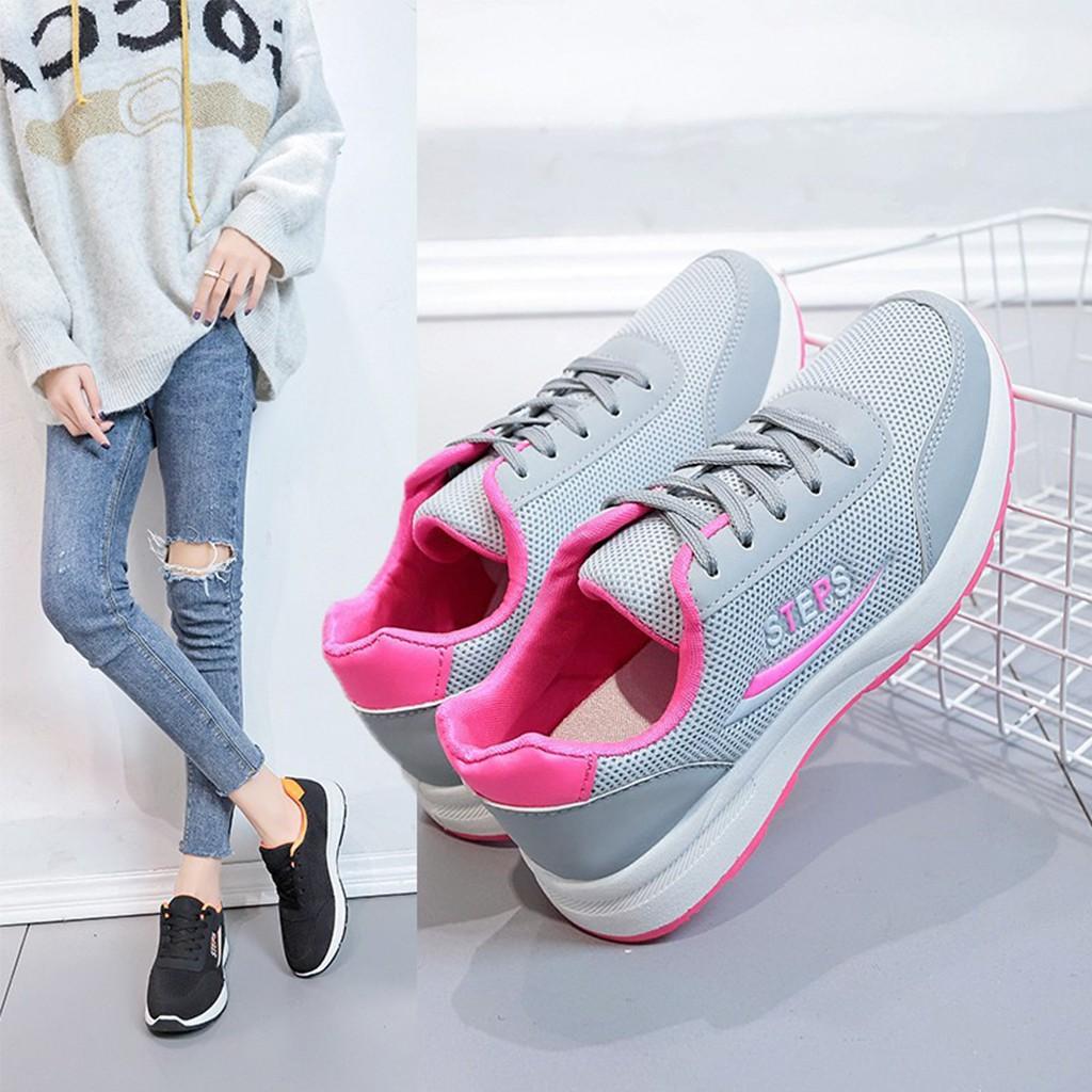 Giày nữ đi bộ,Giày nữ tập Gym Cực mềm cực êm