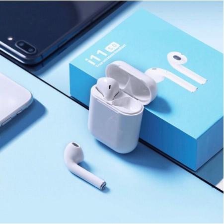 [Mã ELFLASH5 giảm 20K đơn 50K] Tai Nghe Bluetooth i11 Chính Hãng Nút Cảm Ứng Như Airpods - Bảo hành 12 tháng