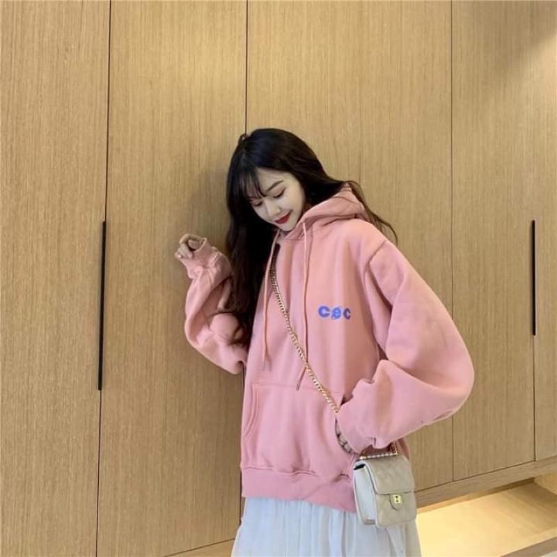 [có big size] Áo Hoodie Ulzzang Nữ Tay Rộng Phong Cách Hàn Quốc HD71 - Liti shop