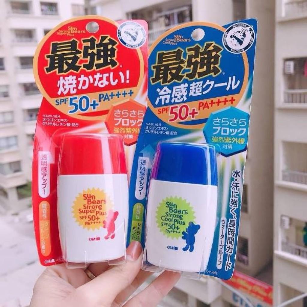 Kem chống nắng OMI SUNBEAR SPF 50+ Nhật Bản