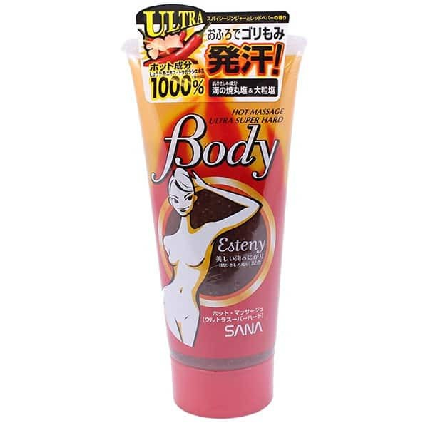 Gel Esteny Hot Body Massage Gel Sana tan mỡ bụng 240g Nhật