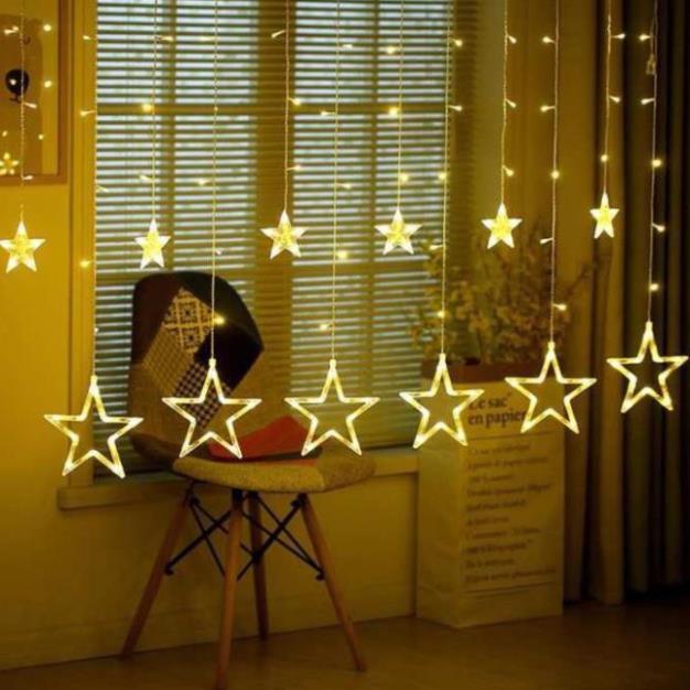 [Free Ship] Đèn LED ngôi sao trang trí nhấp nháy