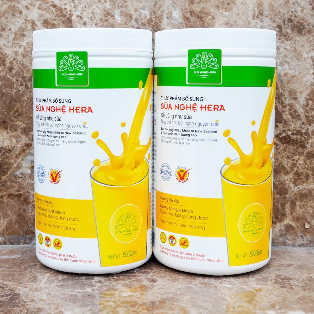 Sữa nghệ Hera ❤️ CHẤT LƯỢNG CAO ❤️ Sữa hỗ trợ lợi sữa, đẹp dáng đẹp da, chính hãng 100%