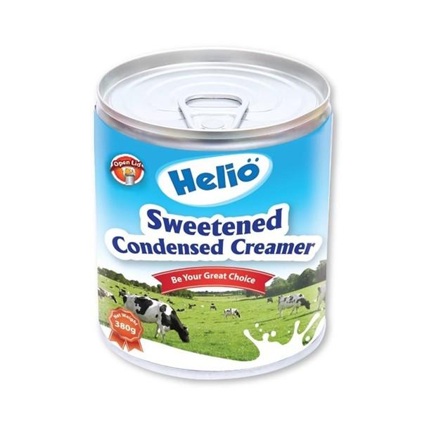 Lon Sữa đặc Helio 380gr