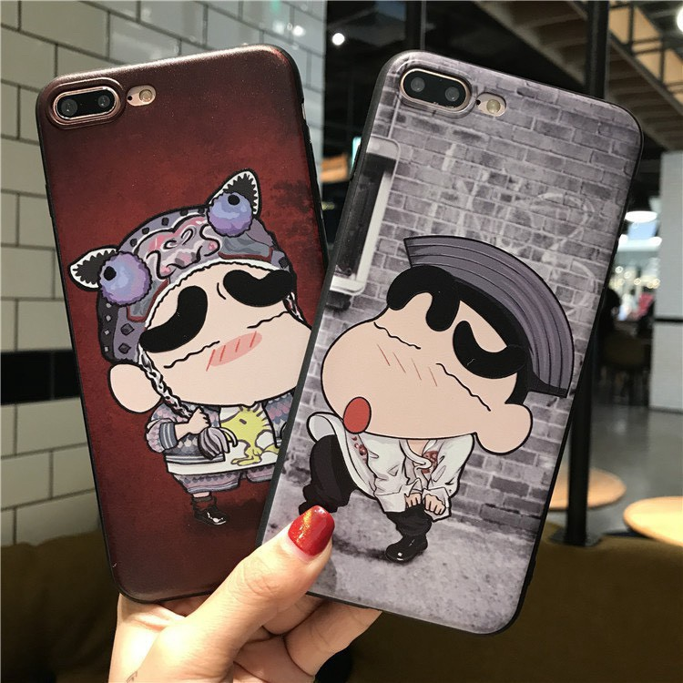 Ốp lưng iphone Shin Cặp Đôi 6 6S 6Plus 6S Plus 7 8 7Plus 8Plus X XSMax 11 ProMax XR - Xưởng Ốp Việt Nam M114