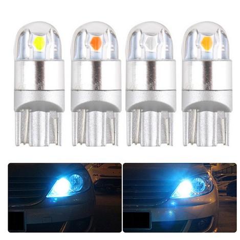 Đèn LED Cho Ôtô🌸 FreeShip Đèn LED Demi Đèn Xi Nhan T10 2SMD 3030 Siêu Sáng Xe Hơi
