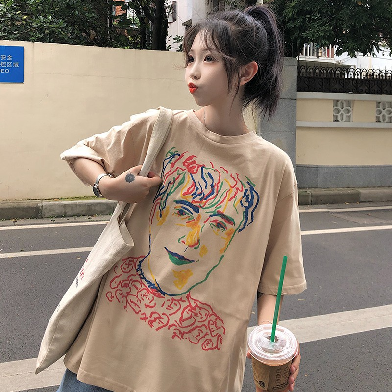 Áo Phông Nữ Ovesize Tay Lỡ Đẹp Hàn Quốc - Liti shop
