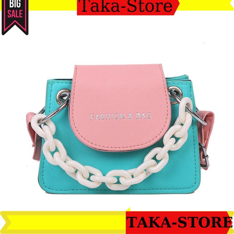 [Hàng quảng châu]Túi đeo chéo nữ mini hotrend thời trang hàn quốc TAKASTORE-093853