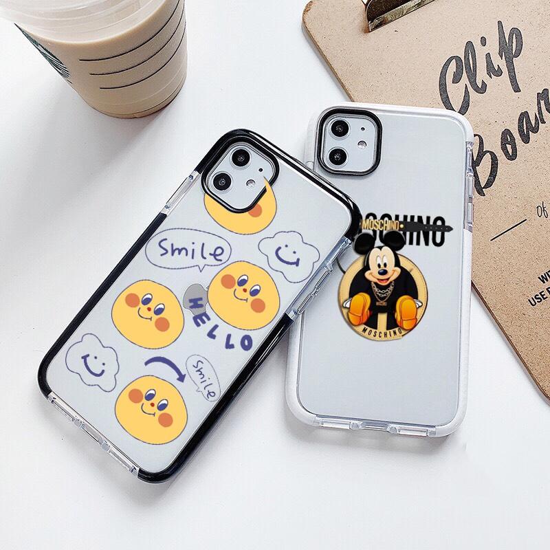Ốp lưng iphone chống sốc Smile 6 6S 6Plus 6S Plus 7 8 7Plus 8Plus X XSMax 11 ProMax XR - Xưởng Ốp Việt Nam M791