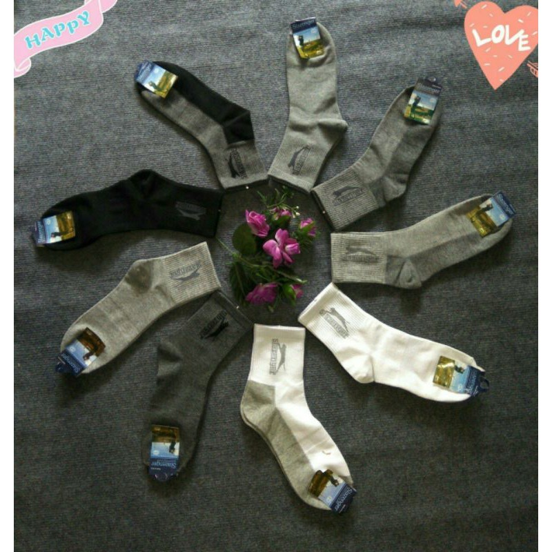Tất nam cổ cao Slazenger Hàn Quốc( chuẩn loại 1 không bán hàng nhái)
