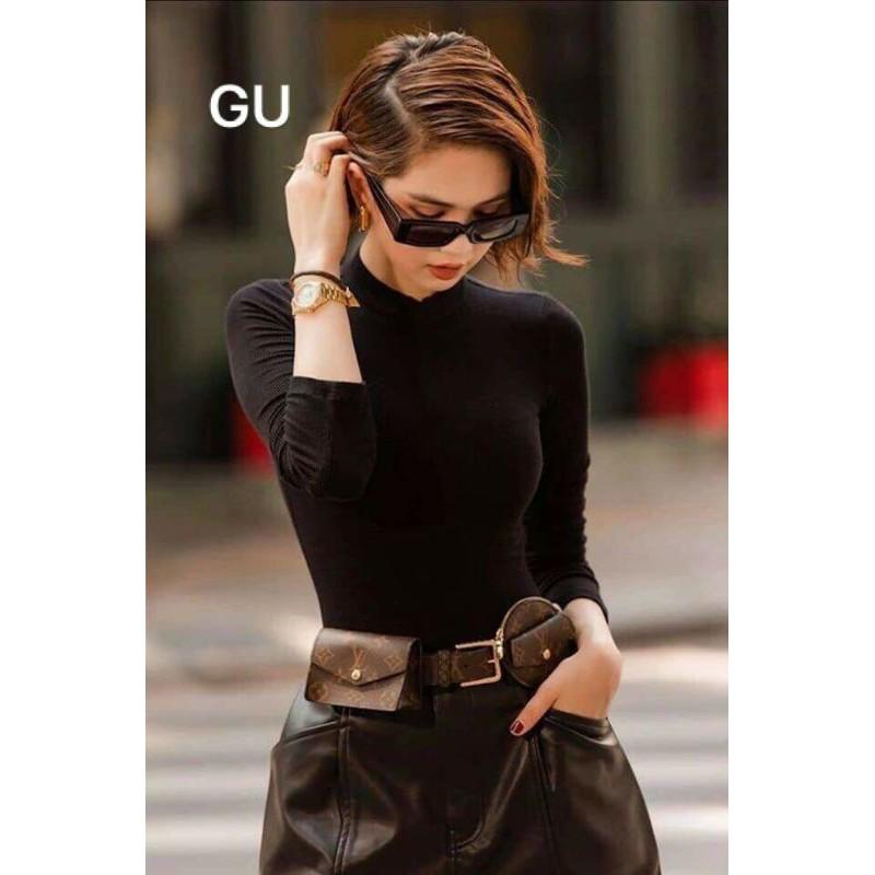 áo giữ nhiệt nữ cổ cao xuất Nhật( vải co dãn 4 chiều, không sổ lông)
