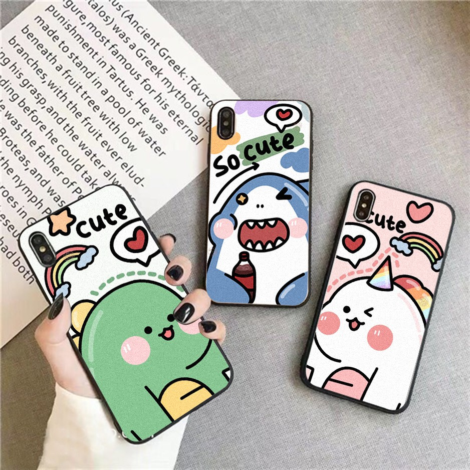 Ốp lưng iphone cứng So Cute  6 6S 6Plus 6S Plus 7 8 7Plus 8Plus X XSMax 11 11 Pro 11 ProMax XR - Xưởng Ốp Việt Nam M818