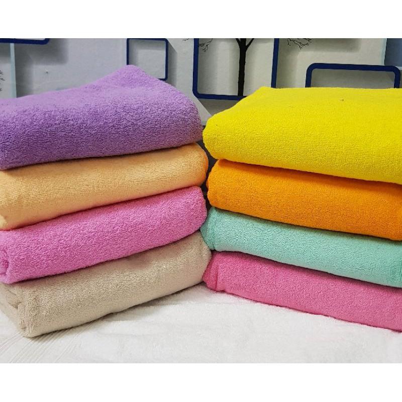 Khăn tắm 100% Cotton kt 70×140 cm -320g thấm nước cực tốt