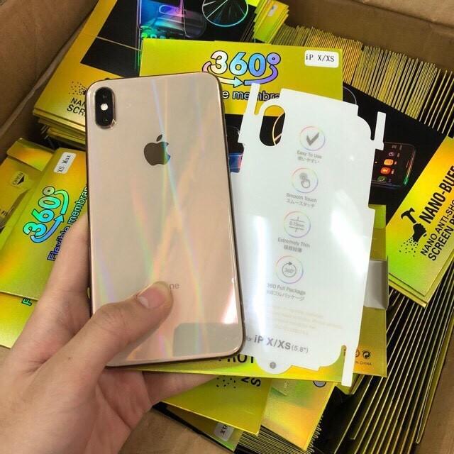 [Mã ELORDER5 giảm 10k đơn 20k] [Miễn Phí Vận Chuyển 50K] Miếng Dán PPF iPhone Trong Suốt 7 Màu Rẻ Đẹp