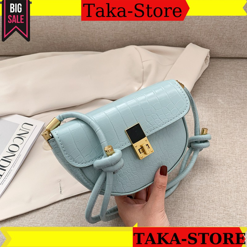 Túi xách nữ đeo chéo TAKASTORE da mền xinh đẹp đi chơi 067649