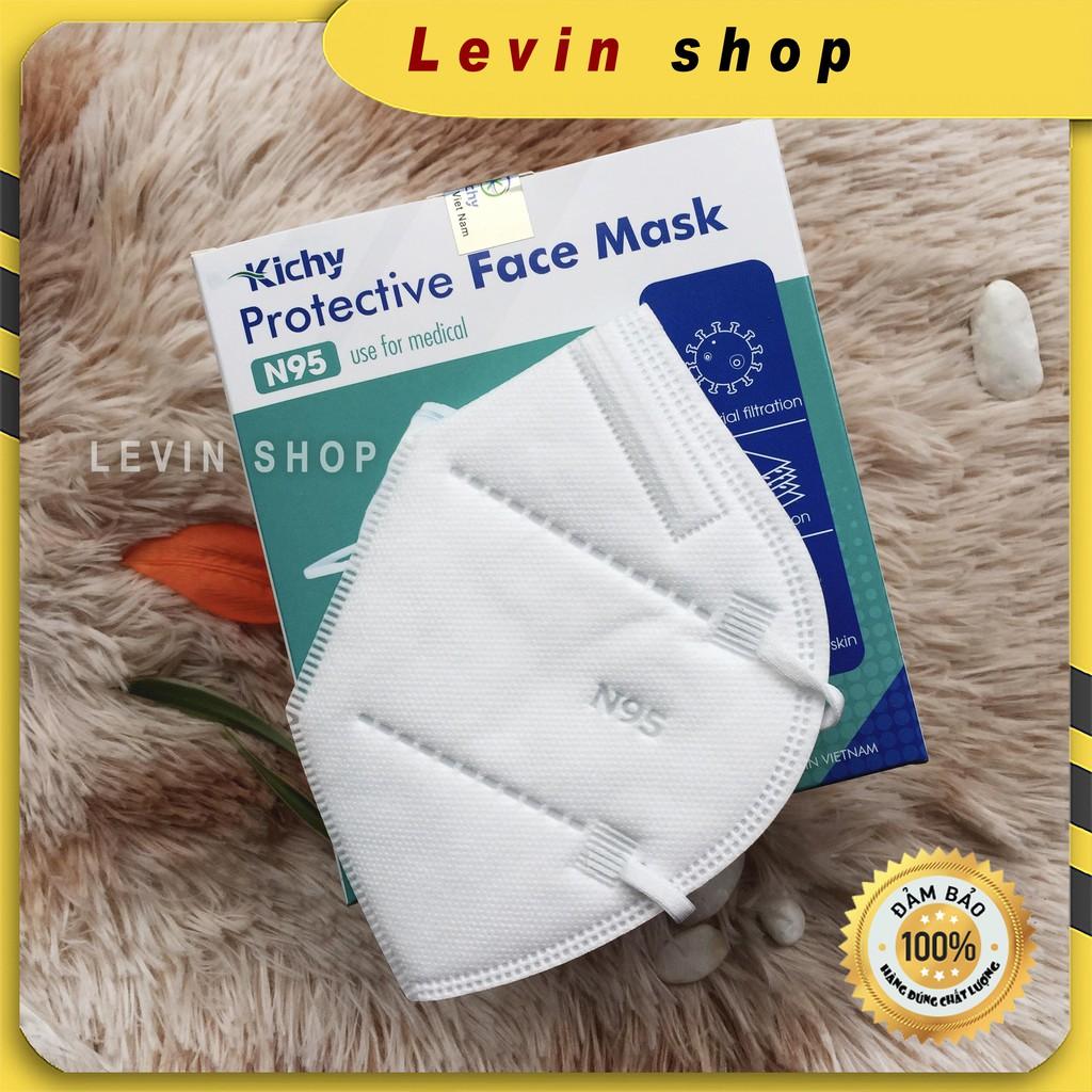 [5 lớp vải lọc] Khẩu trang N95 - KN95 chống bụi mịn PM 2.5, kháng khuẩn
