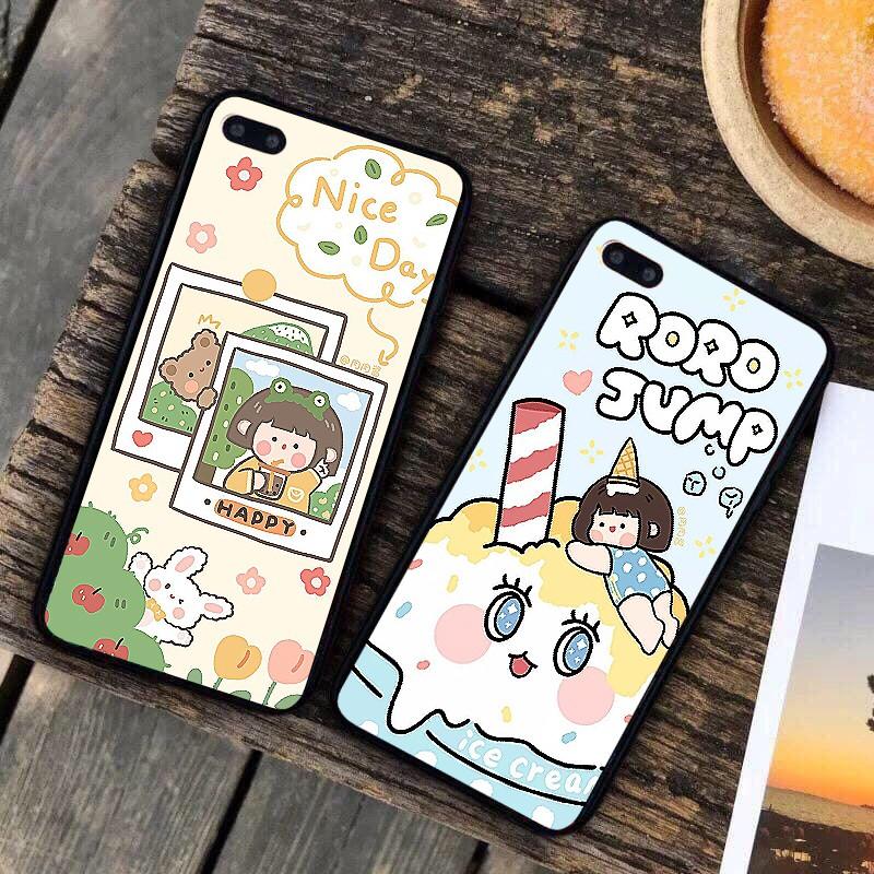 Ốp lưng iphone cứng Happy 6 6S 6Plus 6S Plus 7 8 7Plus 8Plus X XSMax 11 11 Pro 11 ProMax XR - Xưởng Ốp Việt Nam M823