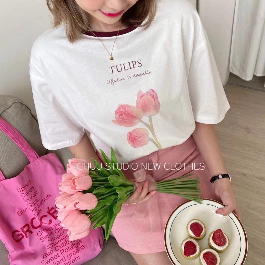 Áo thun hoa