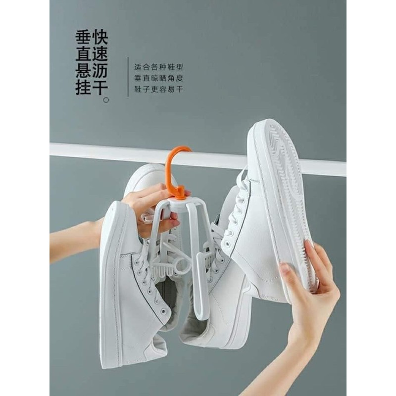 Móc treo ♥️FREESHIP♥️ Móc phơi treo giày loại mới 4 cạnh