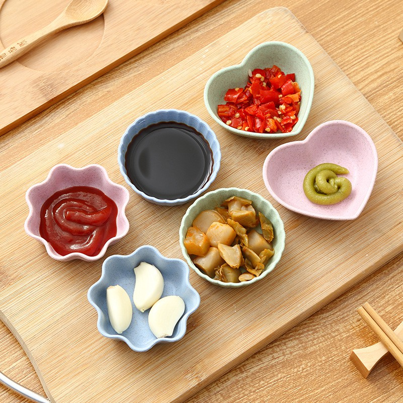 Bát ăn dặm mini yến mạch phong cách Nhật Bản cho bé yêu, bát đựng nước chấm.