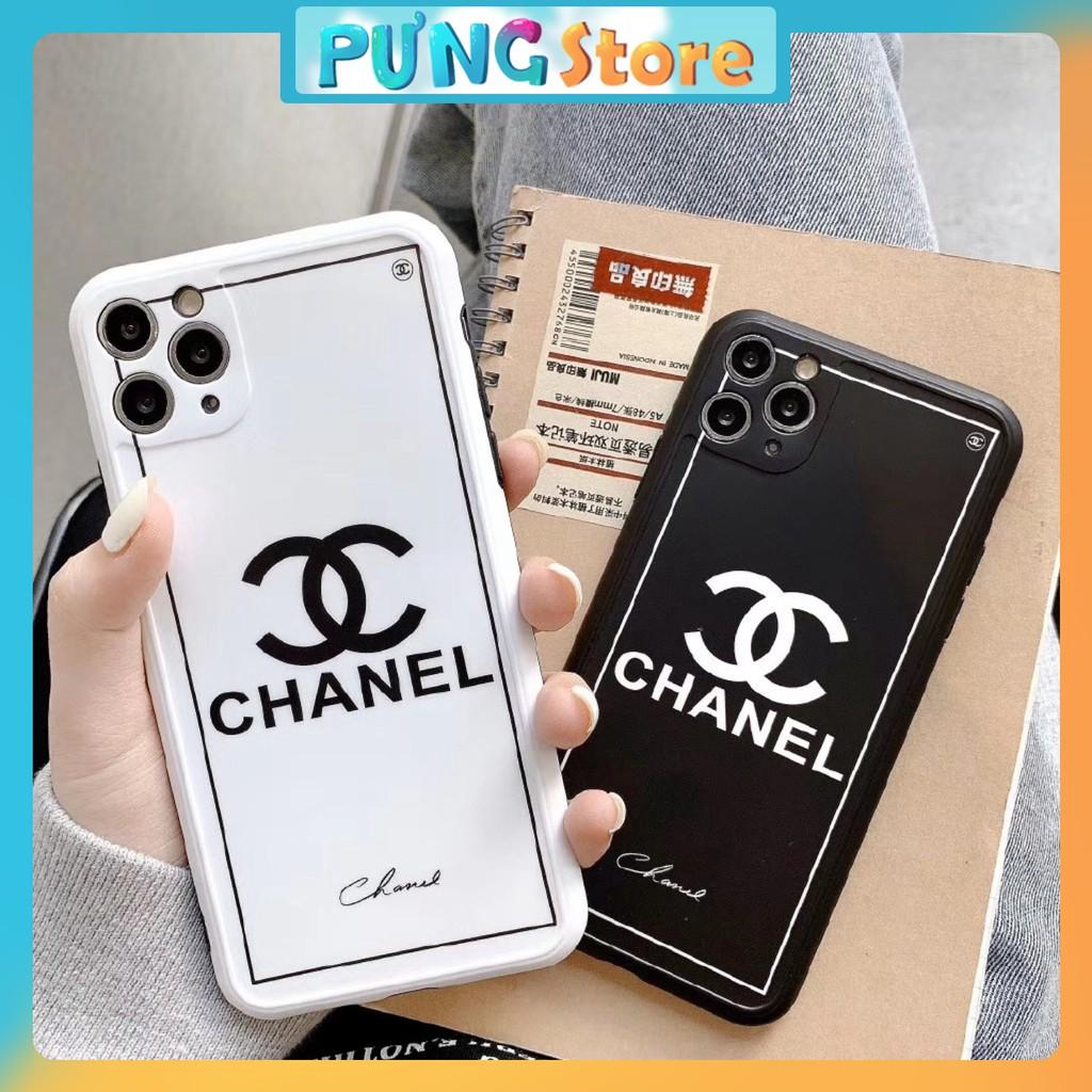 Ốp Điện Thoại Họa Tiết Chanel Bảo vệ Camera Cho Iphone 12 11 Pro Max X Xs Xr Xsmax 8 7 Plus