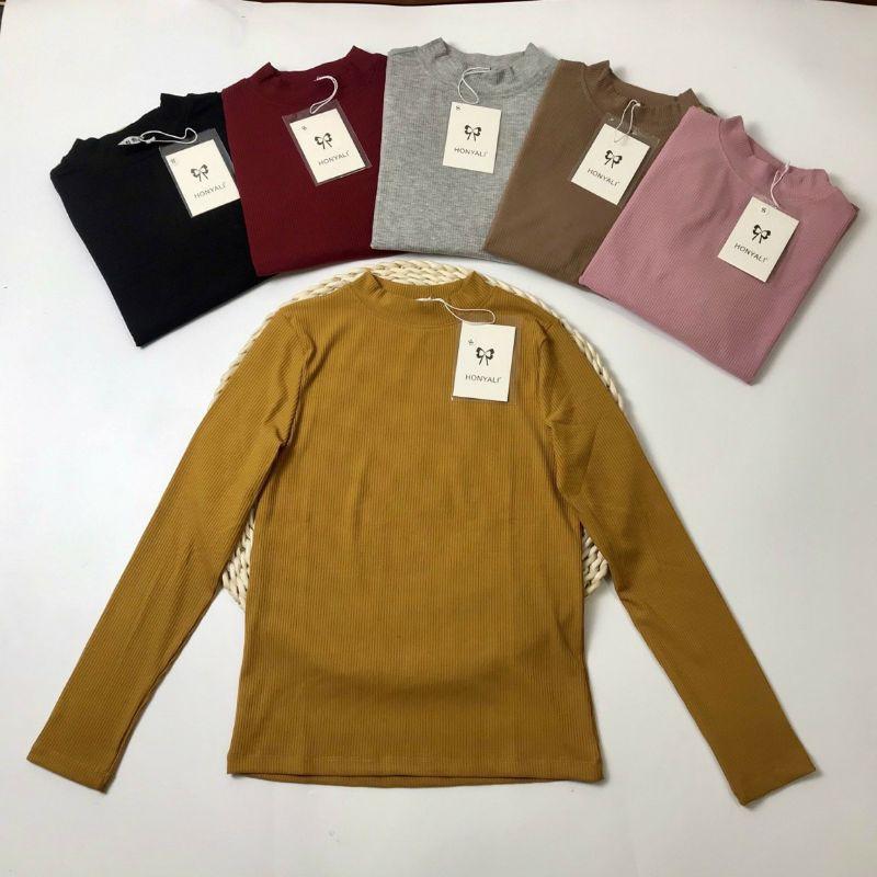 Áo giữ nhiệt chất liệu len tăm xuất Nhật