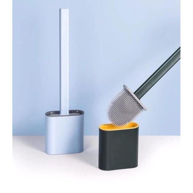DỤNG CỤ NHÀ TẮM ♥️FREESHIP♥️ Chổi cọ nhà vệ sinh Silicon - có hộp để cọ cao cấp