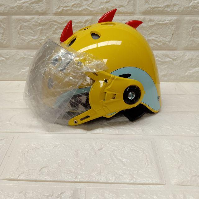 Sỉ Combo 10 mũ bảo hiểm khủng long kính đẹp