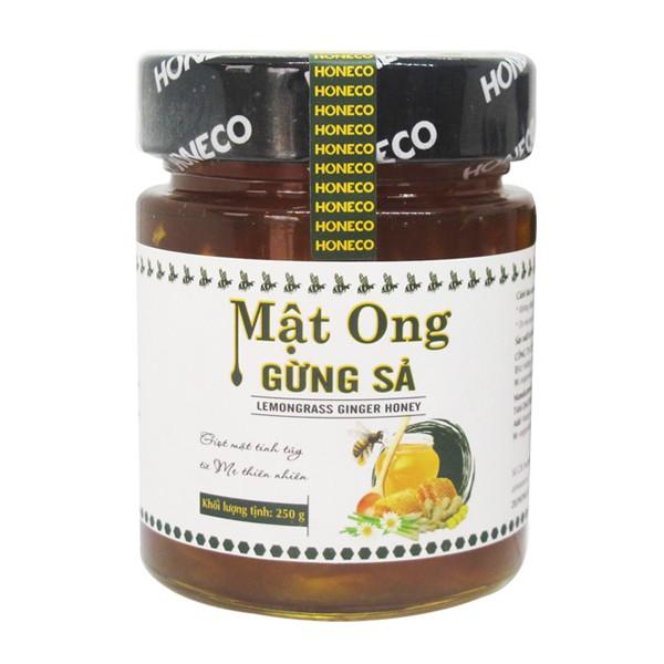 Honeco Mật ong gừng sả 250 g