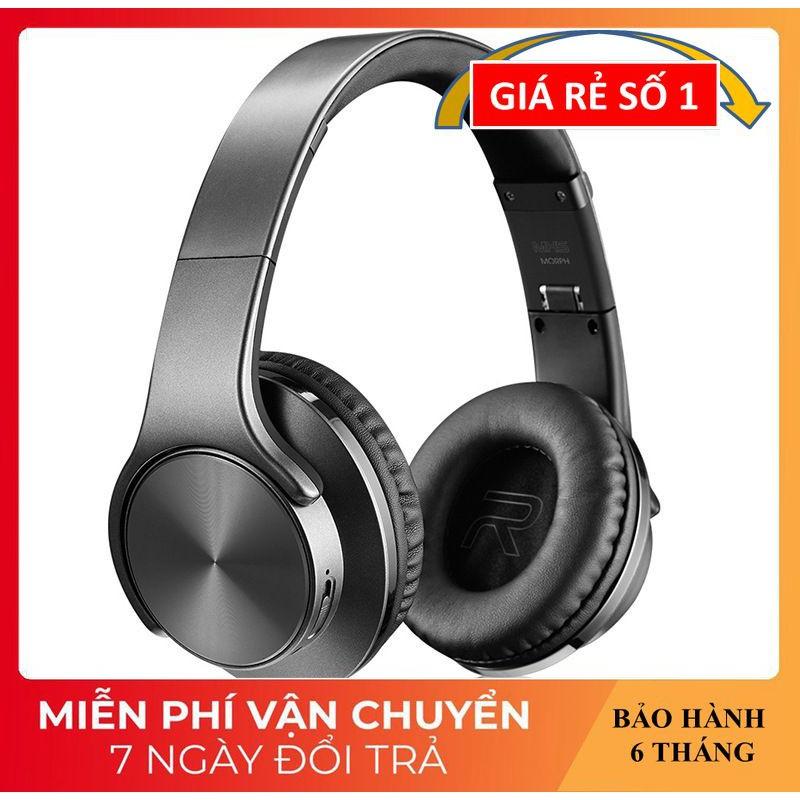 Tai Nghe Chụp Tai ❤️FREESHIP❤️ Tai Nghe Bluetooth Cao Cấp Âm Thanh Sống Động - Tai Nghe Không Dây MH5 Kiêm Loa Nghe Nhạc