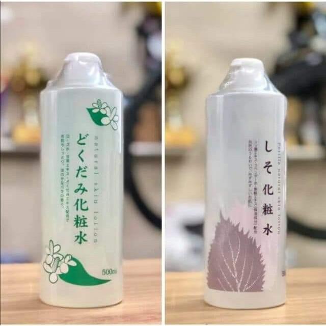 Nước hoa hồng lotion toner diếp cá, tía tô Dokudami Nhật Bản