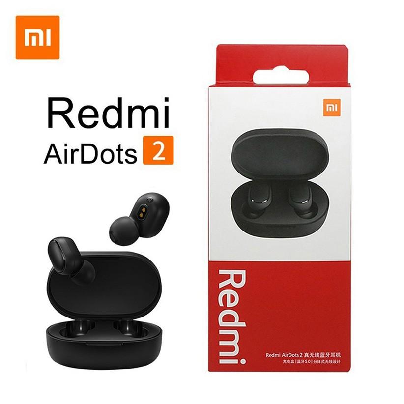 Tai Nghe Bluetooth🍀 Tai Nghe Xiaomi Redmi Airdots 2 TWS 5.0 Chống Ồn Tự Động Kết Nối Không Dây