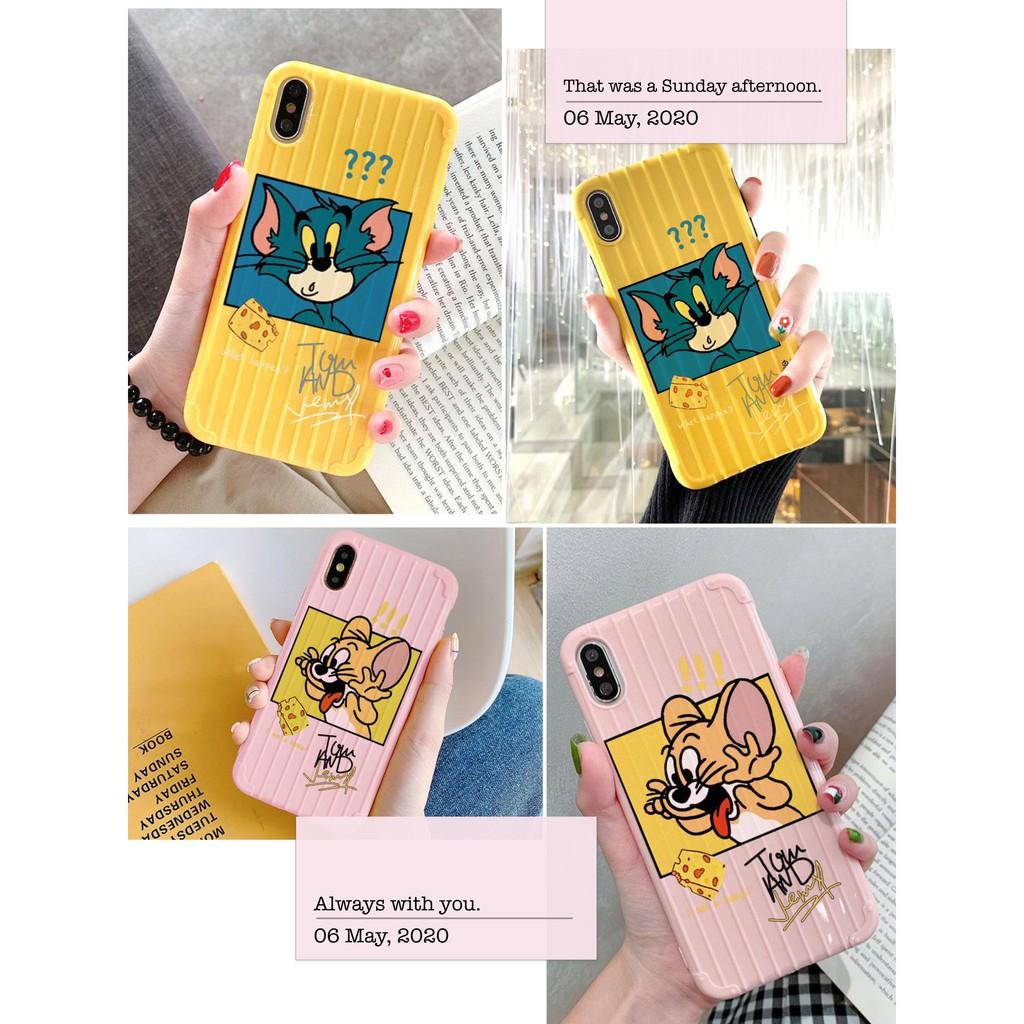 Ốp lưng Vali - iphone - VL2 Tom Và Jerry Chọc Nhau