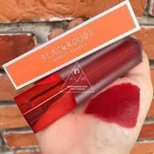 Son Kem Lì Black Rouge Màu A17 đỏ lạnh siêu đẹp - son handmade không